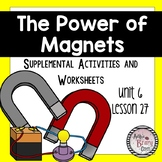 The Power of Magnets Journey Third Grade Lesson 27 Worksheets