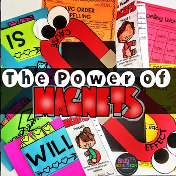The Power of Magnets Journeys 3rd Grade Activities Lesson 27