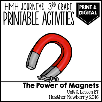 The Power of Magnets: Journeys 3rd Grade (Unit 6, Lesson 27)