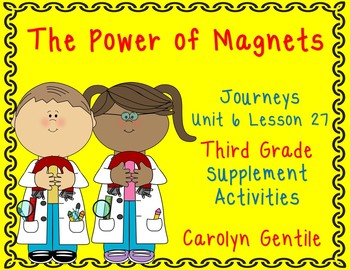 The Power of Magnets Journeys Unit 6 Lesson 27 Third Grade Sup. Act.