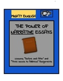 """The Power of Narrative: Two assignments: """"Three Issues"""" an"""