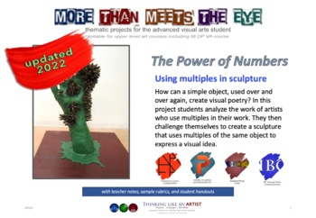 The Power of Numbers - Using Multiples in Sculpture