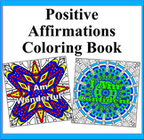 The Power of Positivity- 50 Positive Affirmations Coloring Pages