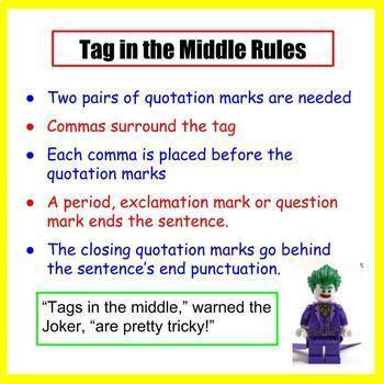 Quotation Marks - PowerPoint Lesson and Worksheets Bundle