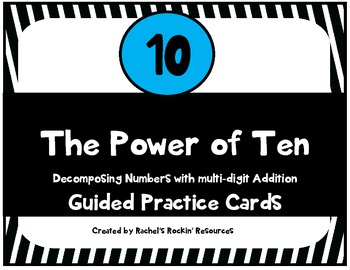 Decomposing Double Digit Addition - The Power of Ten