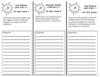 The Power of W.O.W. Common Core Trifold/ Journeys Houghton