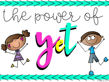 Growth Mindset - The Power of Yet
