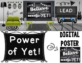 The Power of Yet Digital Poster