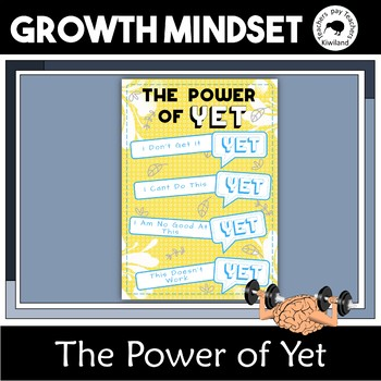 The Power of Yet Growth Mindset Poster 11x17 and A3