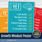 """Growth Mindset Poster: """"The Power of Yet"""""""