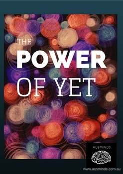 The Power of Yet- Mindset Poster
