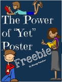 The Power of Yet Poster FREEBIE