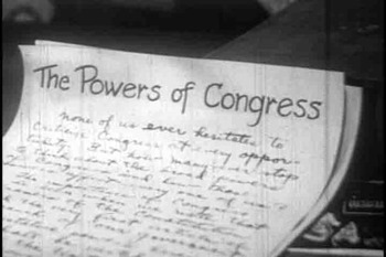 The Powers of Congress Powerpoint