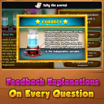 The Practice of Science - Quiz Game Warm-Up