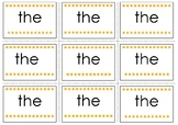 The Pre-Primer Sight Word Flash Cards