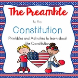 The Preamble--Printables & Activities to Celebrate Learnin
