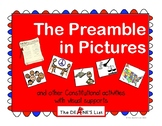 The Preamble in Pictures & Constitutional activities with picture supports