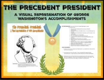 The Precedent President: A Visual Representation of GW's Accomplishments