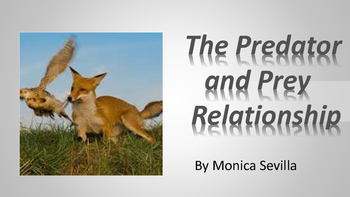 The Predator and Prey Relationship PDF eBook
