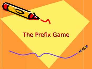 The Prefix Game