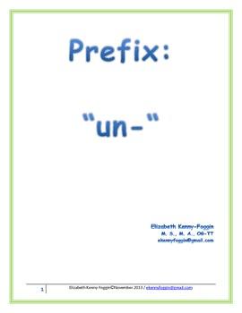 "The Prefix ""un-"" A Multisensory Approach"