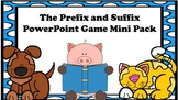 The Prefixes and Suffixes PowerPoint Game Mini Pack Bundle