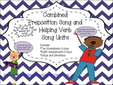 The Preposition Song Unit and The Helping Verb Song Unit Combined