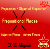 The Prepositional, the Adjective, and the Adverb Phrases B