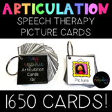 Speech Therapy: HUGE Articulation Cards BUNDLE All Sounds