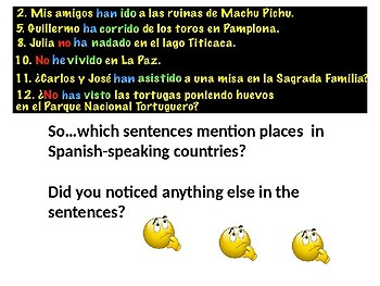 The Present Perfect and the past perfect tense - Spanish