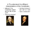 The Presidencies of Washington and Adams-American History 1789-1798