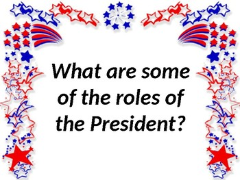 The Presidency - A US Government Powerpoint Presentation