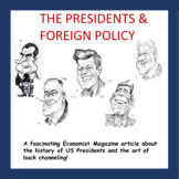 The Presidency & Foreign Policy (Printable Activity)
