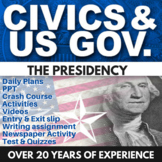 The Presidency - Civics - Chapter 7 - Holt