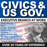 Executive Branch at Work - Civics - Chapter 8 - Holt