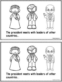 The President -An Emergent Reader