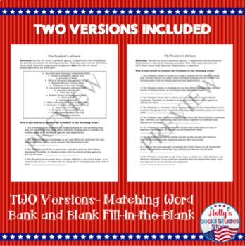 The President's Advisors- Bureaucracy Review