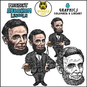 President Clipart - Abraham Lincoln