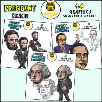 President Clipart - Franklin D Roosevelt