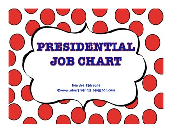 The Presidential Job Chart