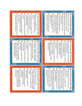 The Presidents Flash Cards