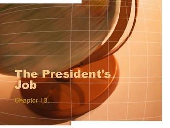 The President's Job