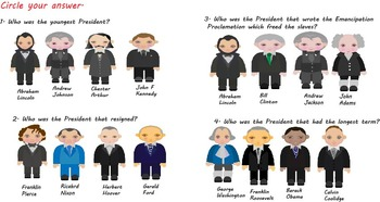 President's Day - The Presidents of the United States of America (FREE)