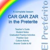 The Preterite Tense: Car, Gar, and Zar Verbs (Spanish)