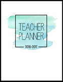 The Pretty Planner: Printable Teacher Binder