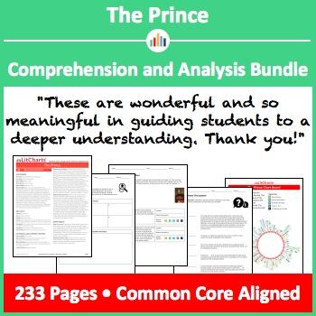 The Prince – Comprehension and Analysis Bundle