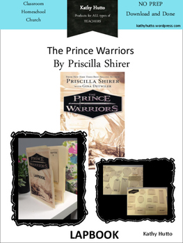 The Prince Warriors by Priscilla Shirer LAPBOOK