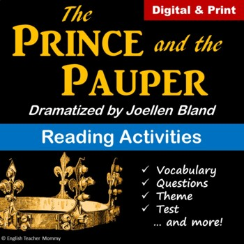 The Prince and the Pauper Play Activities