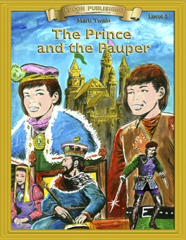 The Prince and the Pauper RL2.0-3.0 flip page EPUB for iPa