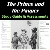 The Prince and the Pauper by Mark Twain: Study Guide & Ass